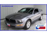 2006 Tungsten Grey Metallic Ford Mustang V6 Deluxe Coupe #11729460