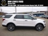 2017 White Platinum Ford Explorer Sport 4WD #117459730