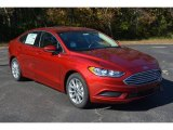 2017 Ruby Red Ford Fusion SE #117459958