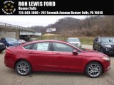 2017 Ruby Red Ford Fusion SE AWD #117459725