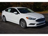 2017 Oxford White Ford Fusion SE #117459956