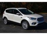 2017 White Platinum Ford Escape Titanium #117459955