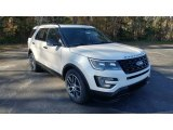 2017 White Platinum Ford Explorer Sport 4WD #117459952