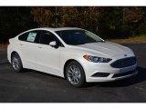 2017 White Platinum Ford Fusion SE #117459949