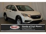 2016 White Diamond Pearl Honda CR-V LX AWD #117494013