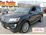 2016 Shadow Black Ford Explorer Limited 4WD #117502805