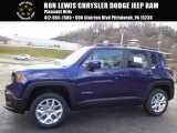 2017 Jetset Blue Jeep Renegade Latitude 4x4 #117509624