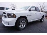 2017 Bright White Ram 1500 Sport Crew Cab 4x4 #117509525