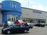 2007 Royal Blue Pearl Honda Civic LX Sedan #11720380