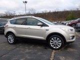 2017 White Gold Ford Escape Titanium 4WD #117509481