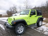 2017 Hypergreen Jeep Wrangler Sport 4x4 #117509465
