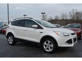 2015 White Platinum Metallic Tri-Coat Ford Escape SE #117509552