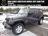 2017 Granite Crystal Metallic Jeep Wrangler Unlimited Sport 4x4 #117509464