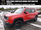 2017 Colorado Red Jeep Renegade Altitude 4x4 #117509461