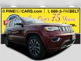 2017 Velvet Red Pearl Jeep Grand Cherokee Overland 4x4 #117532368