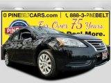 2014 Super Black Nissan Sentra SV #117532361