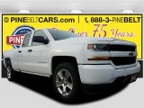 2017 Summit White Chevrolet Silverado 1500 Custom Double Cab #117532358