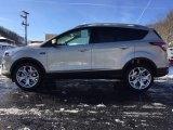 2017 White Gold Ford Escape Titanium 4WD #117550524