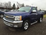 2013 Blue Topaz Metallic Chevrolet Silverado 1500 LT Regular Cab 4x4 #117550629