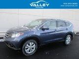 2014 Twilight Blue Metallic Honda CR-V EX AWD #117550328