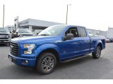 2017 Ford F150 XLT SuperCab Front 3/4 View