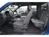 2017 Ford F150 XLT SuperCab Black Interior