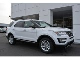 2017 Oxford White Ford Explorer XLT #117550500