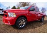 2017 Flame Red Ram 1500 Express Quad Cab #117550485