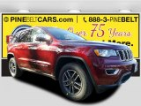 2017 Velvet Red Pearl Jeep Grand Cherokee Limited 4x4 #117550380
