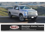 2017 Silver Sky Metallic Toyota Tundra Limited Double Cab 4x4 #117550373