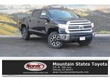2017 Midnight Black Metallic Toyota Tundra SR5 CrewMax 4x4 #117550371