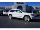 2017 Bright White Jeep Grand Cherokee Limited #117575349