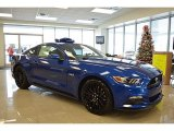 2017 Lightning Blue Ford Mustang GT Premium Coupe #117575309