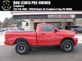 2012 Flame Red Dodge Ram 1500 ST Regular Cab 4x4 #117575296