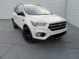 2017 White Platinum Ford Escape SE #117575360