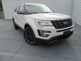 2017 White Platinum Ford Explorer XLT #117575357