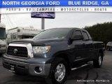 2007 Blue Streak Metallic Toyota Tundra SR5 Double Cab 4x4 #117575188