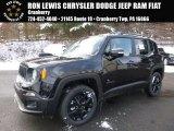 2017 Black Jeep Renegade Altitude 4x4 #117575286