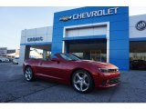 2015 Crystal Red Tintcoat Chevrolet Camaro SS Convertible #117575392