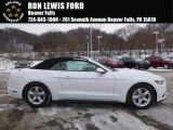 2017 Oxford White Ford Mustang V6 Convertible #117593056