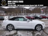 2017 Oxford White Ford Mustang V6 Convertible #117593055