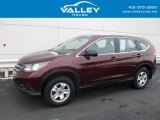 2014 Basque Red Pearl II Honda CR-V LX AWD #117592912