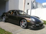 2008 Macadamia Metallic Porsche 911 Turbo Cabriolet #1172993