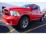 2017 Flame Red Ram 1500 Express Quad Cab #117593147