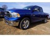 2017 Blue Streak Pearl Ram 1500 Big Horn Quad Cab 4x4 #117593143