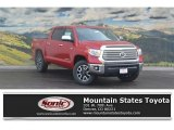 2017 Barcelona Red Metallic Toyota Tundra Limited CrewMax 4x4 #117592945
