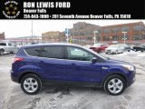 2014 Deep Impact Blue Ford Escape SE 1.6L EcoBoost 4WD #117593061