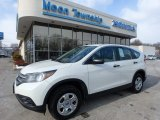 2014 White Diamond Pearl Honda CR-V LX AWD #117630148