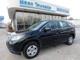 2014 Crystal Black Pearl Honda CR-V LX AWD #117630147