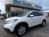 2014 White Diamond Pearl Honda CR-V EX-L AWD #117634795